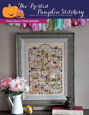 Once Upon a Time Sampler Cross Stitch Pattern