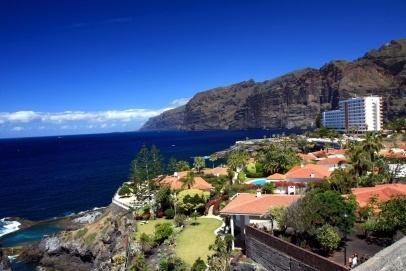 Puerto Santiago, Los Gigantes, Tenerife, Spain