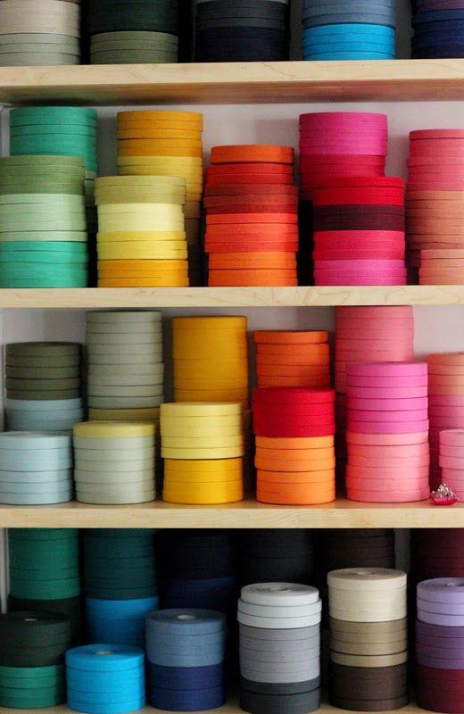 studio carta cotton ribbon colors