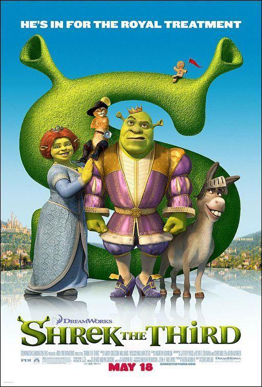 Shrek Tercero (2007) | Cartelera de Noticias