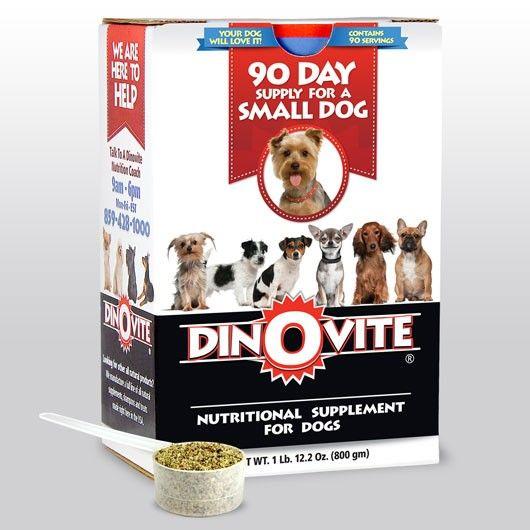 Dog Food Vitamin Supplement Dinovite