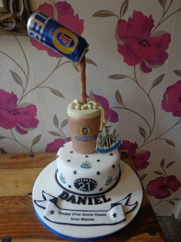 Birthday Beer Cake Pinterest