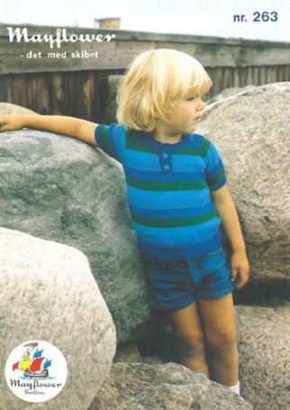 Mayflower263 - Børne polobluse med korte eller lange ærmer - Mayflower