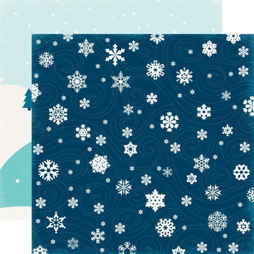 Papier Echo Park - Hello Winter - Frigid Blizzard