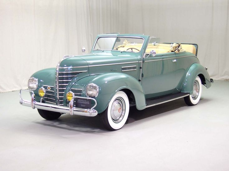 1939 Plymouth P8 Deluxe Convertible | Hyman Ltd. Classic Cars..Re-pin Brought to you by agents of car insurance at #HouseofInsurance in #EugeneOregon for #CarInsurance