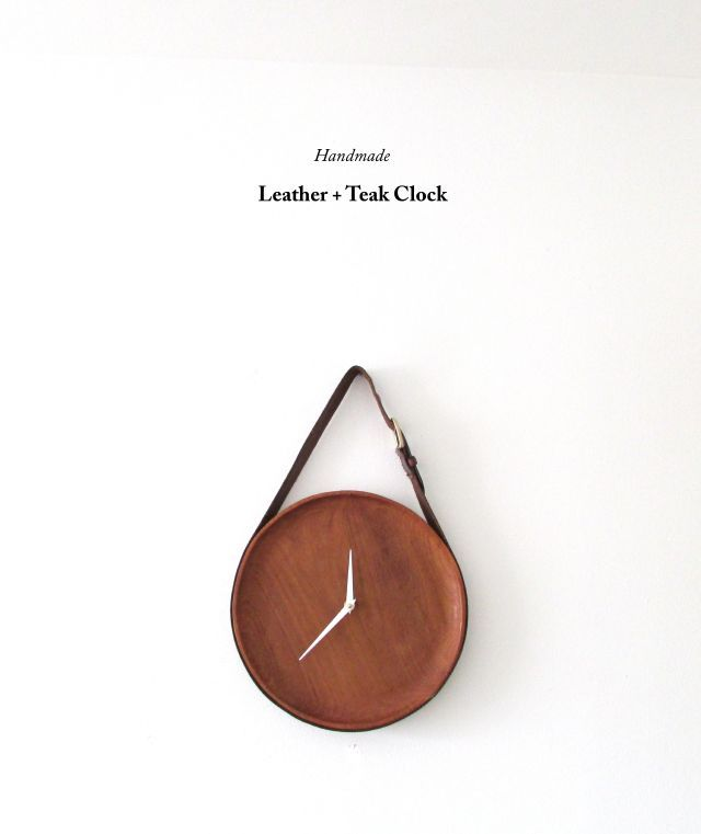 Handmade Clock- Francois et Moi