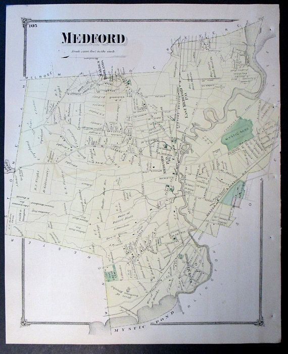 1875 Medford Machusetts Town Map. Mystic Pond and Park ... on ma city map, ma beaches map, norfolk county ma map, wellfleet ma map, mass city map, massachusetts county map, ma state map, billerica ma map, ma topographical map, ma toll map, ma river map, ma road map, ma region map, ma coast map, ma island map, eastern ma cities map, ma world map, massachusetts zip code map, ma on us map, ma counties map,