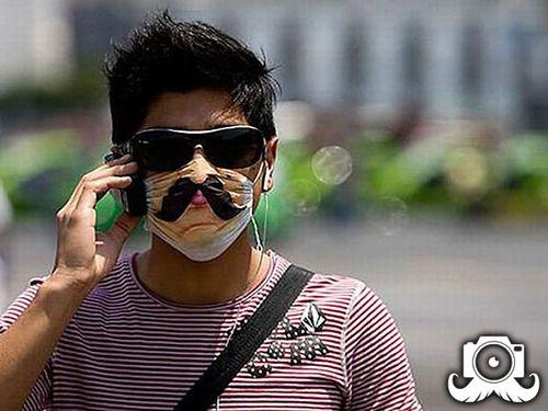 Mo's protecting against swine flu... Kind of!