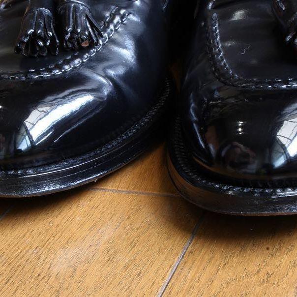 2017/07/23 16:28:50 gentle_kutsumigaki_shoeshine #Alden #beautyandyouth #unitedarrows #giabs #giabsarchivio #cordovan #shoeshine #mirrorshine #bootblack #gents #gentleman #canon #manfrotto #tasseled #loafers