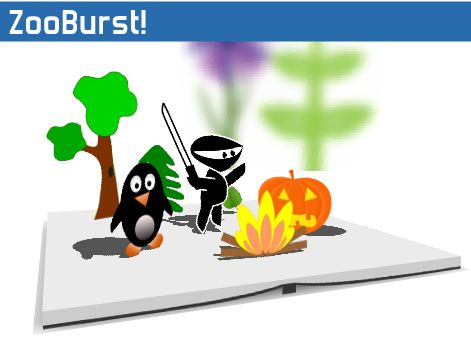 ZooBurst is a digital storytelling tool that lets anyone easily create his or her own 3D pop-up books.