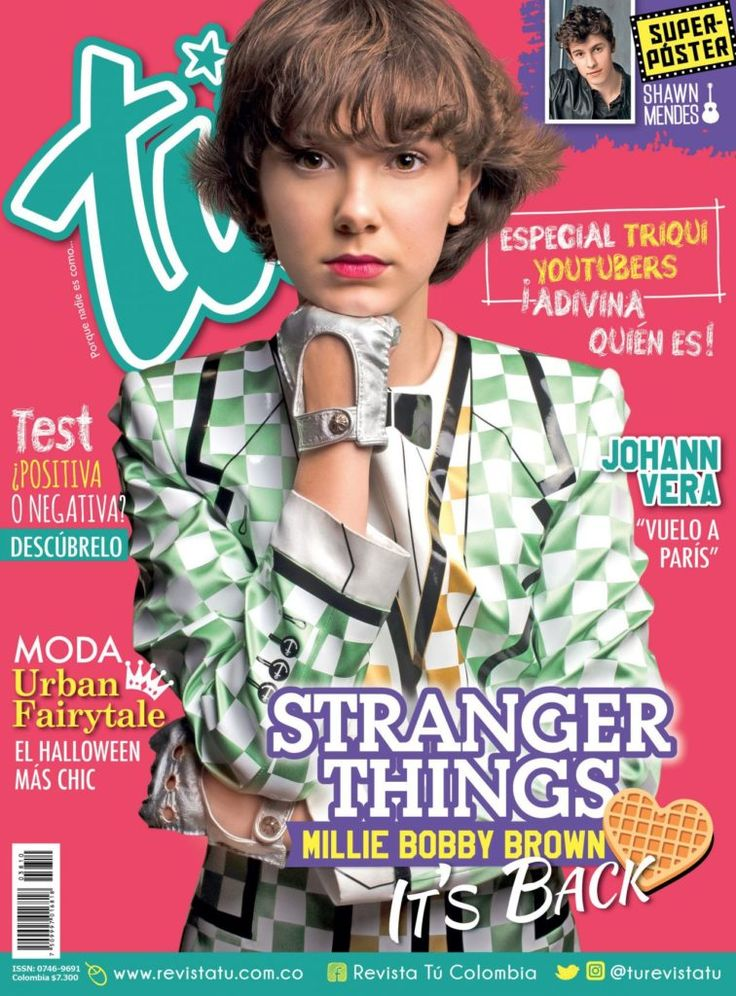 Millie Bobby Brown  #MillieBobbyBrown Revista Tu Colombia October 2017 http://ift.tt/2iDkmCo