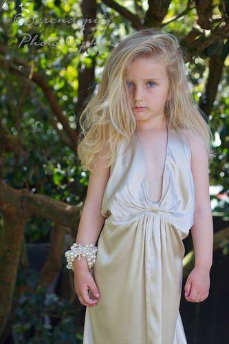 Modelling Mum's Wedding Dress