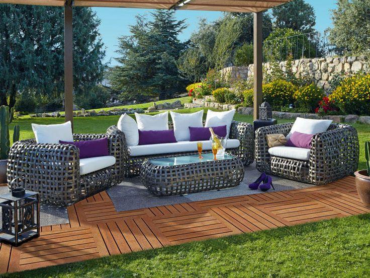 muebles de exterior para disfrutar al aire libre
