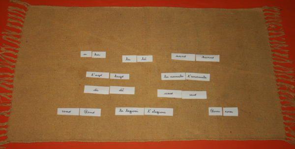 omofoni Montessori 6