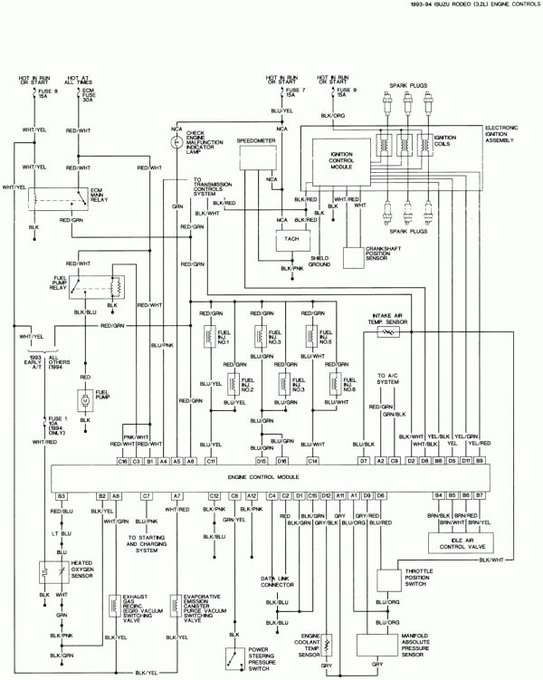 Isuzu Rodeo Trailer Wiring Diagram - Wiring Diagram Replace slow-expect -  slow-expect.miramontiseo.it | 99 Isuzu Rodeo Wiring Diagrams |  | slow-expect.miramontiseo.it