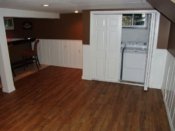 Hide Washer And Dryer In Basement Reno Basement