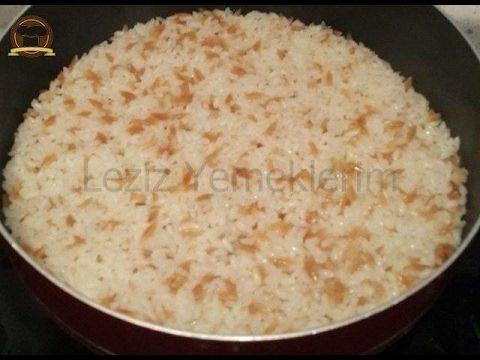 Şehriyeli Pirinç Pilavı - Leziz Yemeklerim
