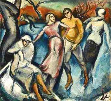 Les patineurs (1920)