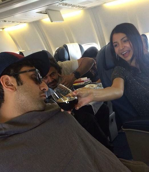 Ranbir Kapoor is exhausted and Anushka Sharma is 'Wonky'.