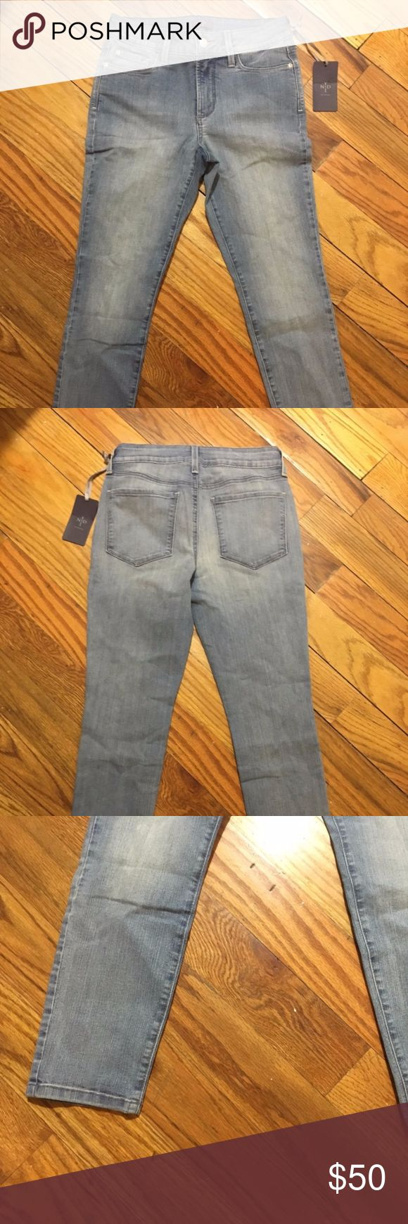 New! NYDJ Skinny Faded Jeans Petite 0P / XS New with tags! These were sample - sample markings on the interior (not visible on outside). Skinny jeans. Petite size 0.  Not Your Daughter's Jeans NYDJ Jeans Skinny