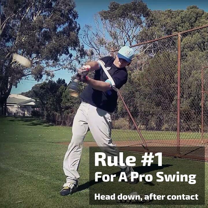 Simple Hitting Tips Teach Kids To Hit A Baseball And Softball Easy Drills Batting Trainer Baseball Baseball Softball