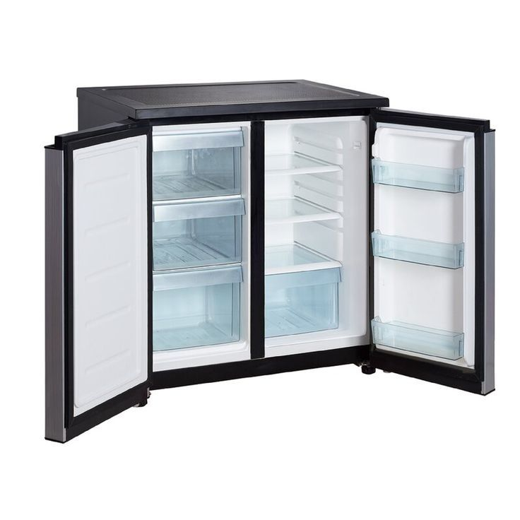 Sunbeam 1 7 Cu Ft Mini Refrigerator Black Refsb17b In 2020 Mini Fridge With Freezer Mini Fridge In Bedroom Mini Fridge