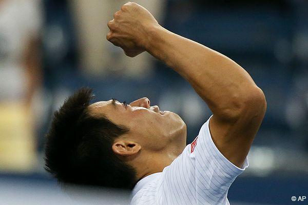 【全米オープンテニス】 男子シングルス準々決勝 S.バブリンカ VS 錦織圭 フルセットで錦織が勝利、初のベスト4進出!
