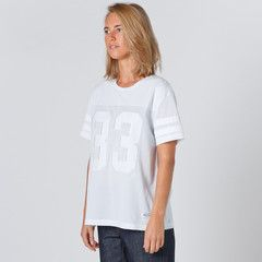 Lower Womens Game T-Shirt in White