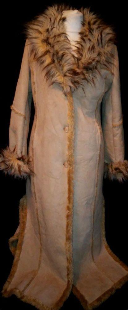 #twitter#tumbrl#instagram#avito#ebay#yandex#facebook #whatsapp#google#fashion#icq#skype#dailymail#avito.ru#nytimes #i_love_ny     Rock collection  women rare coat long sude faux  and fur beige  size L #Rock #BasicCoat