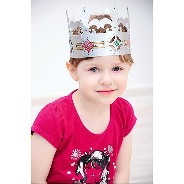 Kreatywna korona dla księżniczki #creative #fun #crown #DIY #kids #festivals #birthday #urodziny #zabawa #moje #bambino  http://www.mojebambino.pl/akcesoria-do-tworzenia-strojow-upominkow-dekoracji-sal/714-dzieciece-korony.html