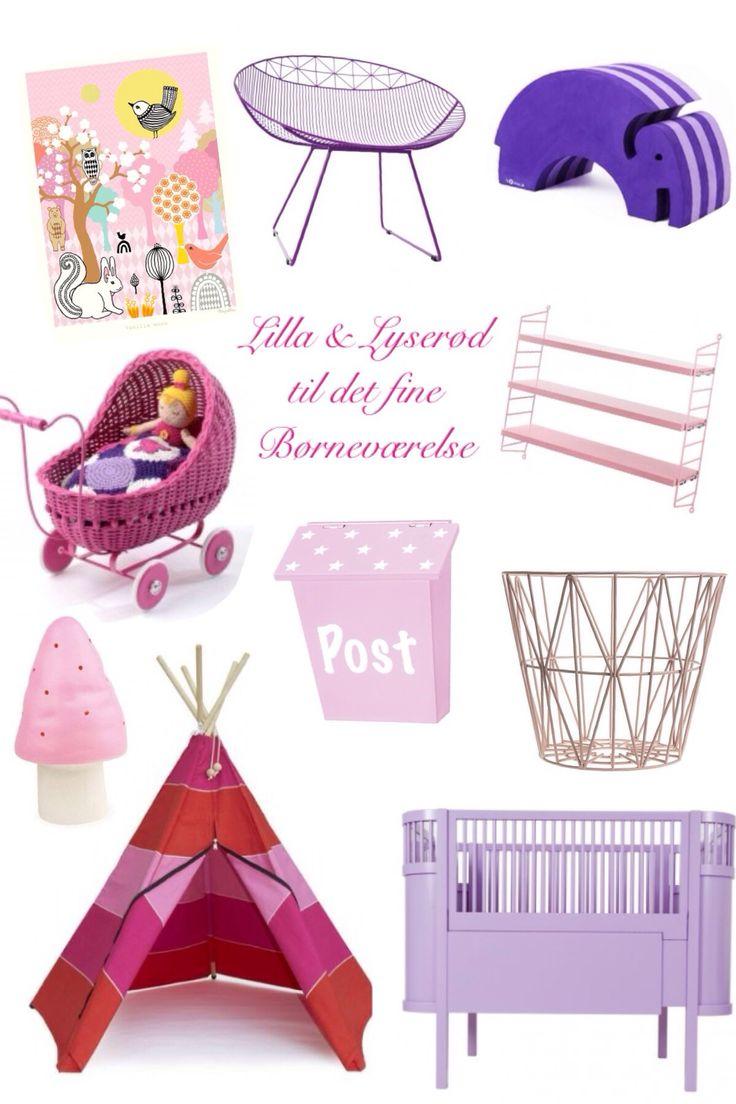Børneværelset #4 // Lilla & lyserød
