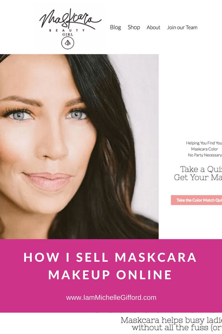 How I sell Maskcara Makeup online