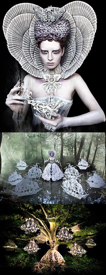 Kirsty Mitchell's Wonderland series