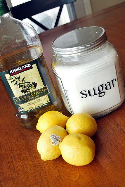 When life gives you lemons - DIY Lemon Sugar Scrub.  Mason Jar, label, tags, etc.