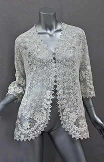 Irish lace jacket 1920s