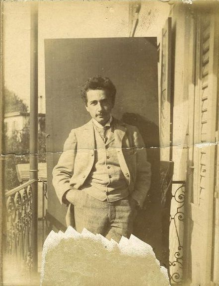 Albert Einstein's Love Letters   Brain Pickings  Young Albert Einstein as a Zurich Polytechnic student (Photograph: Lotte Jacobi)