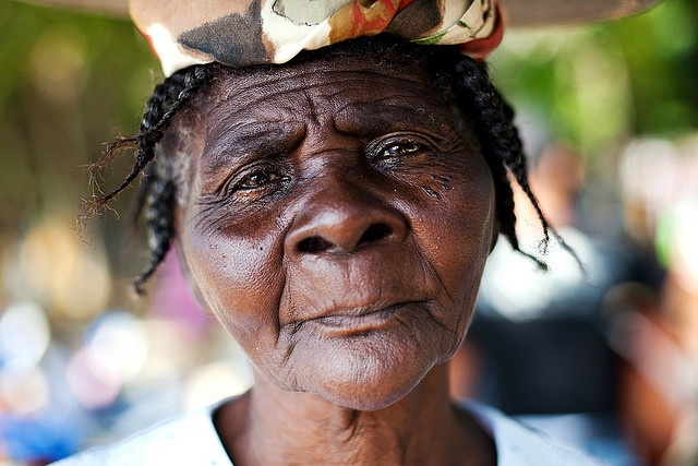 Old Haitian Woman by Dan. D., via Flickr