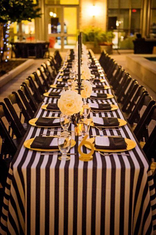13 best black white gold dinner party ideas images on pinterest birthdays black white gold. Black Bedroom Furniture Sets. Home Design Ideas