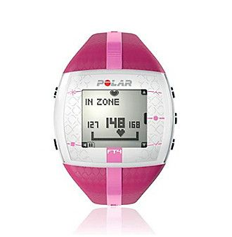 Polar FT4F Purple/Pink Female Heart Rate Monitor Watch at www.bostonstore.com