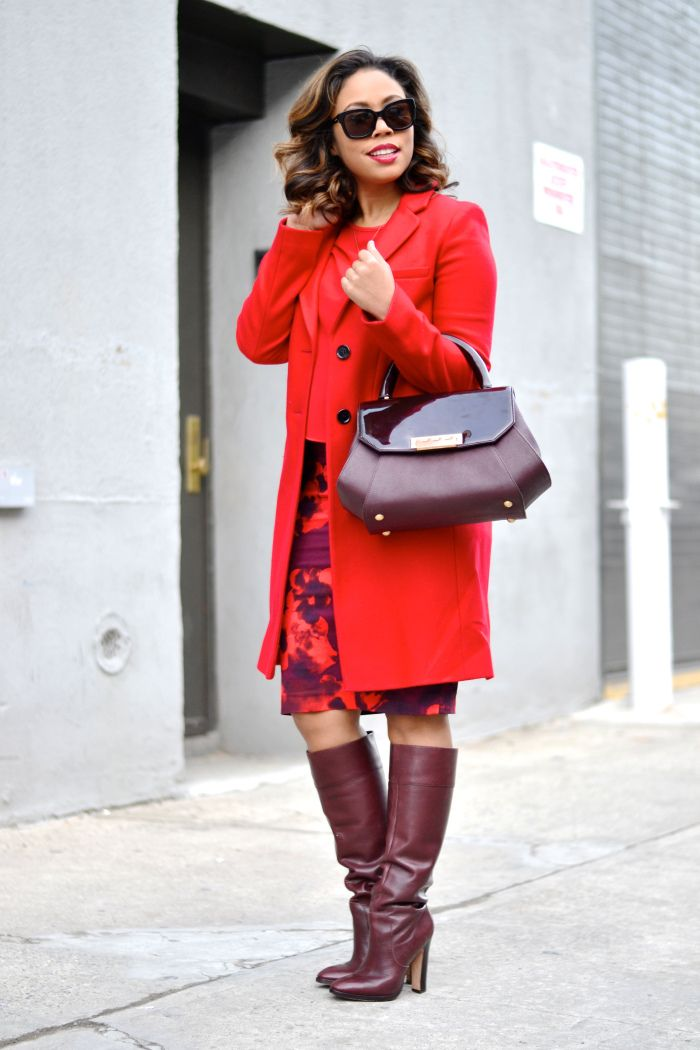 Planet Red Coat - Sm Coats