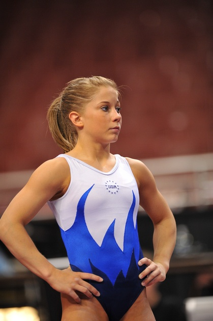 Shawn at podium training Olympic Trials 2008 ... haven't seen this one before!