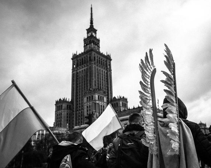 Marsz Narodowców w Święto Niepodległości - odsłona druga Warszawa. 11.11.2015 /Filip