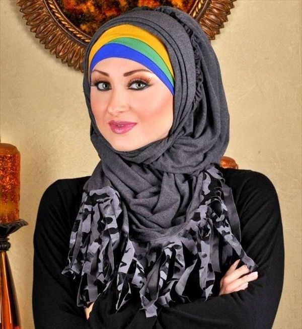 Arabic & Pakistani Hijab Styles 2015 for School Girls http://clothingpk.blogspot.com/2015/02/arabic-hijab-styles-for-school-girls.html