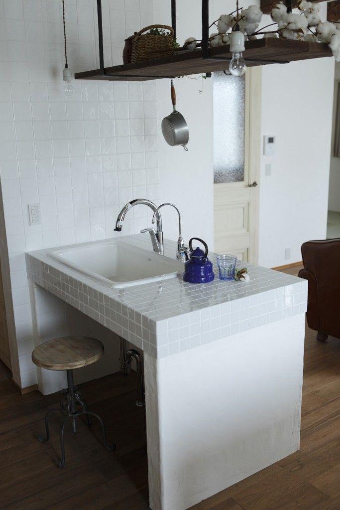 建築実例 La Ferme Rivage 04 キッチン おしゃれ 新築 住宅 キッチン