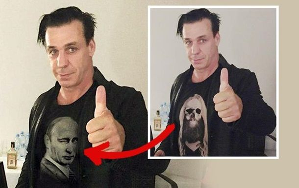 OMG!OMG!!!!!!!!!!!!!! I'm revered Putin.  And Lindemann too! So sad! X(     Солист Rammstein: Я стал жертвой путинской пропаганды  Тиль Линдеманн опровергает поддержку Путина Тиль Линдеманн уже обратился к адвокатам. 30.06.2016  http://korrespondent.net/showbiz/music/3705986-solyst-Rammstein-ya-stal-zhertvoi-putynskoi-propahandy