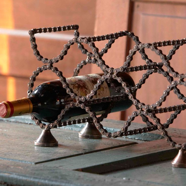 Bike Chain Wine Rack - Furniture - Home Accents - Products