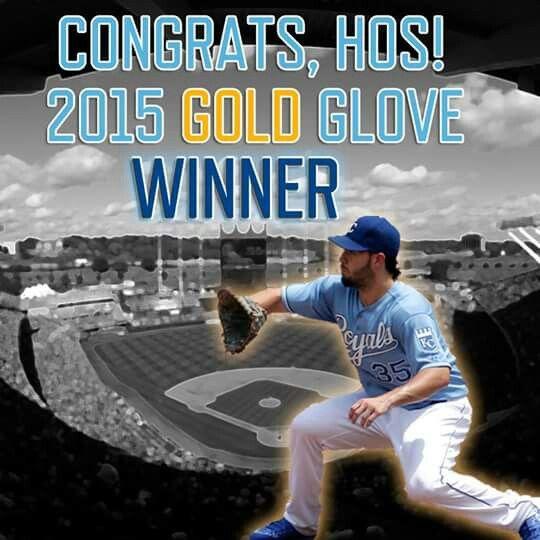 Hoz is a gold glove winner