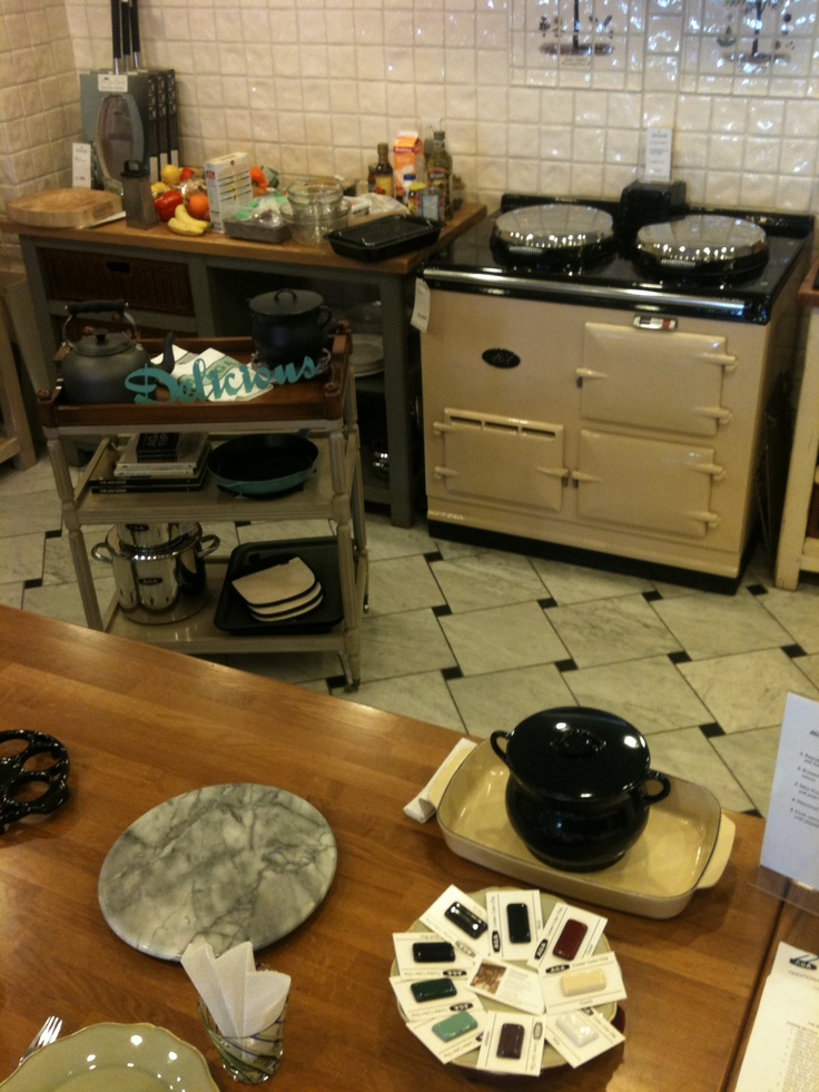 This is The Classic Cream 2 Oven AGA Classic Cooker (Elec)   @ The AGA Shop--Grange Montreal Location