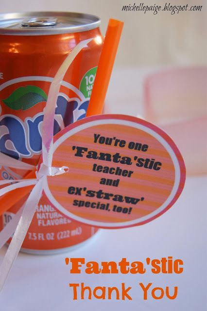 'Fanta'stic Coach and Teacher Gift