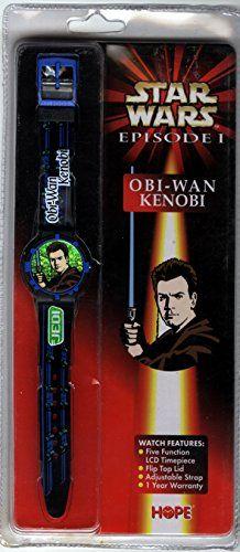 Star Wars Episode 1 Obi-Wan Kanobie Watch by Hope //Price: $10 & FREE Shipping //     #starwarscollection